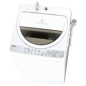 全自動洗濯機 東芝 6kg AW-6G6-W 商品画像1:セイカオンラインショップ