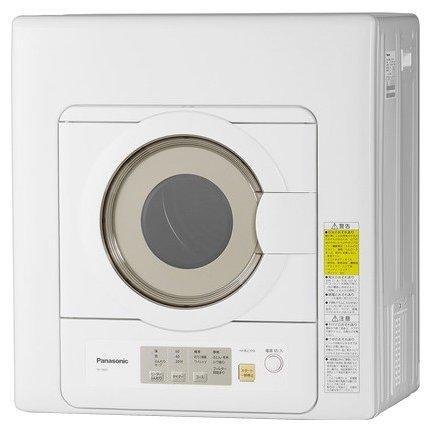 NH-D603-W パナソニック 電気衣類乾燥機6kg ホワイト
