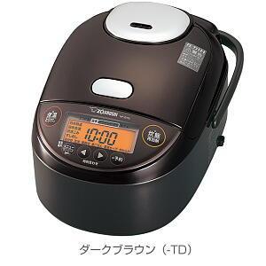 NP-ZH18-TD 象印 圧力IH炊飯器1升 極め炊き ダークブラウン