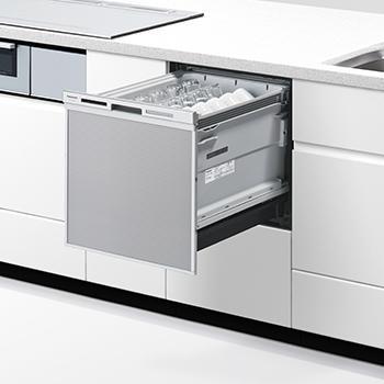 NP-45MS9S パナソニック ビルトイン食器洗い乾燥機 ドアパネル型 ミドルタイ・・・