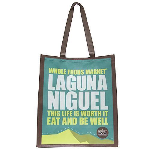 WHOLE FOODS ホールフーズ LAGUNA NIGUEL エコバッグ LAGUNANIGUEL 商品画像1:セレクトAG
