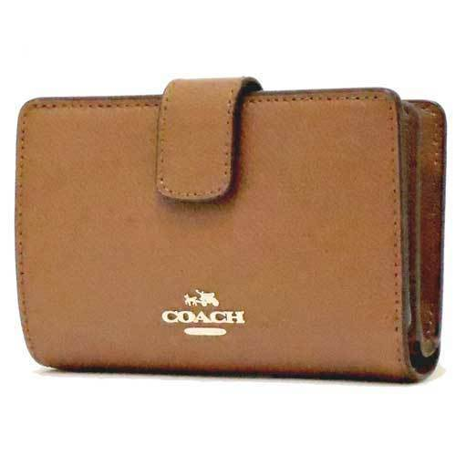 14bf7a512701 COACH コーチ クロスグレーン レザー ミディアム コーナー ジップ ウォレット / 二つ折り財布 F54010 IMSAD 商品