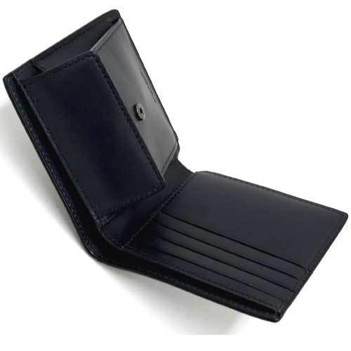 COACH コーチ デボスド シグネチャー クロスグレーン レザー コイン ウォレット / 二つ折り財布  F75363 BHP 商品画像3:セレクトAG