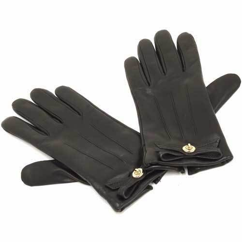 COACH コーチ  レザー レディース  グローブ / 手袋  F55189 BLK・・・