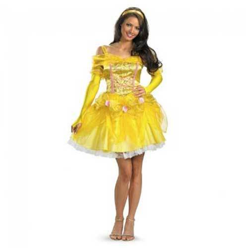ハロウィン コスチューム ディズニー DISNEY 美女と野獣 ベル  舞踏会ドレス ・・・
