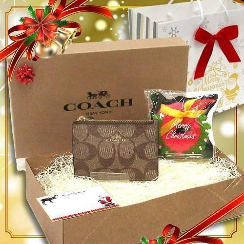 c558404adfbf コーチ コインケース クリスマス ギフトセット COACH シグネチャー PVC ミニ ID スキニー F16107 IMMQ4 商品画像