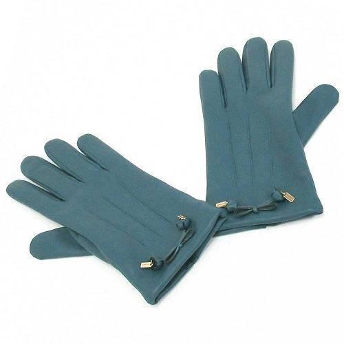 コーチ 手袋 COACHコーチ ティー ローズ ボウ レザー グローブ / 手袋  F2088・・・