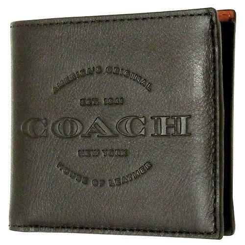 コーチ 財布 COACH メンズ カーフ レザー ダブルビルフォード ウォレット / ・・・