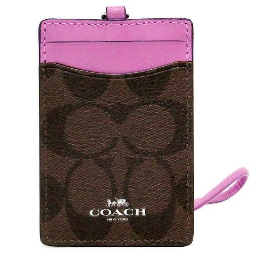 コーチ カードケース COACH  シグネチャー PVC ランヤード ID ケース / カー・・・