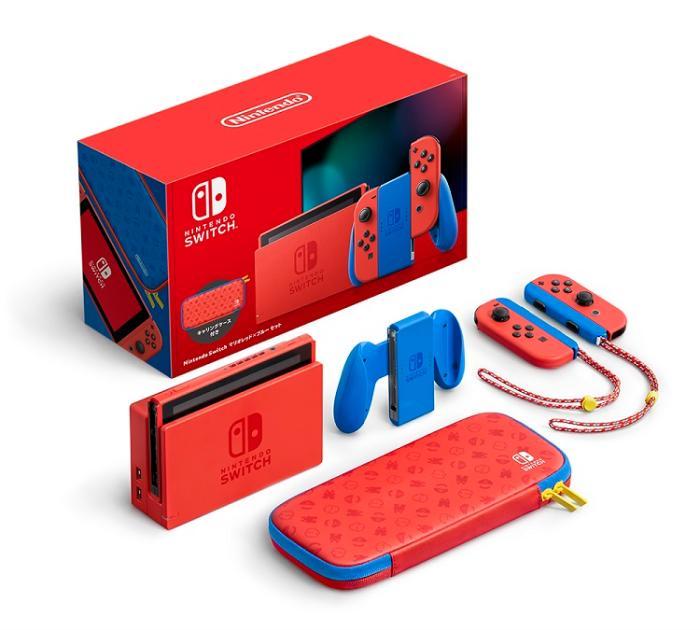 Nintendo Switch マリオレッド×ブルー セット 商品画像2:沙羅の木