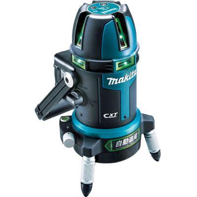 マキタ 自動追尾 グリーンレーザー墨出し器 (おおがね・通り芯・ろく) SK313G・・・