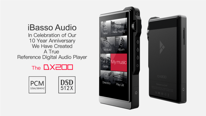 iBasso Audio DX200 [64GB]