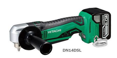 日立 充電式ドライバドリル DN14DSL (NN) (本体のみ:バッテリー・充電器別・・・