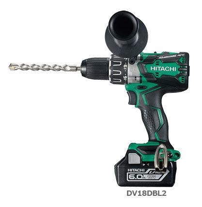 日立 充電式振動ドリル DV18DBL2 (NN)(本体のみ:バッテリー・充電器別売り・・・
