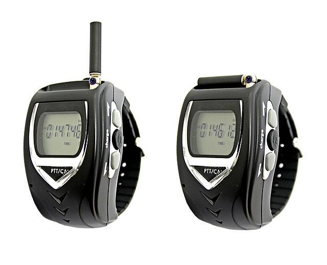 腕時計型 特定小電力 トランシーバー FIRSTEC FT-20W [2台セット]