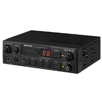UNI-PEX 車載アンプ40W12V仕様(SDレコーダー付) NDS-402