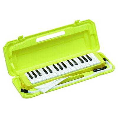 KC 鍵盤ハーモニカ メロディー ピアノ 鍵ハモ 小学校 幼稚園 音楽 P3001-32K/YW (イエロー) 4534853802451