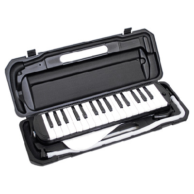 KC 鍵盤ハーモニカ メロディー ピアノ 鍵ハモ 小学校 幼稚園 音楽 P3001-32K/BK (ブラック) 4534853802154