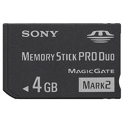 ソニー SONY ProDuo Mark2 4GB ブリスターパック MS-MT4G_N