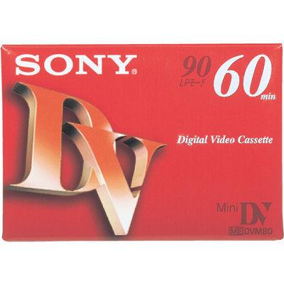 ソニー ミニデジタルビデオカセット DVM60R3