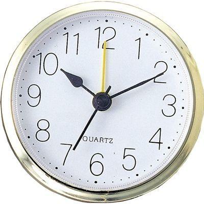 アーテック 丸型時計 ゴールド アラーム付 ATC-5153
