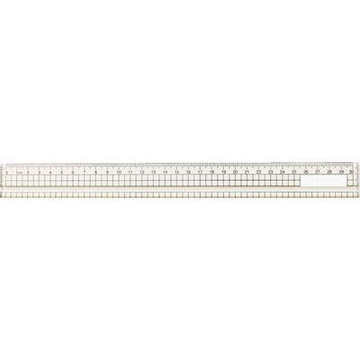 アーテック アクリル方眼定規 30cm(溝付) ATC-10901