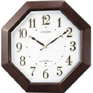 リズム時計 ネムリーナエイト 8MYA17-006 茶色半艶仕上