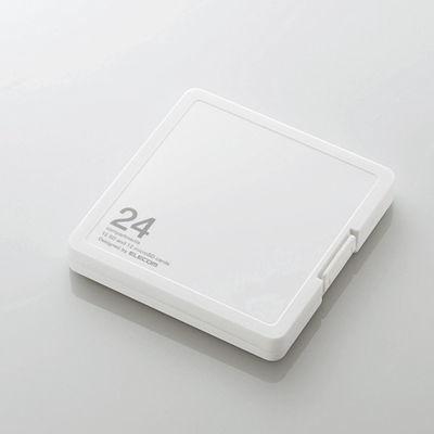 エレコム メモリカードケース/インデックス台紙付き/SD12枚+microSD12枚収納/・・・