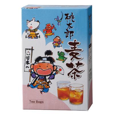 三盛物産 【100個セット】桃太郎麦茶 [麦茶パック10g×5個] MV-10