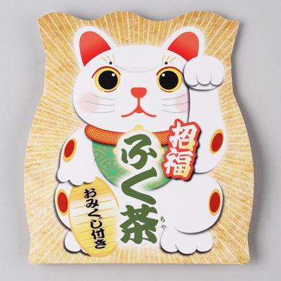 三盛物産 【100個セット】招福 ふく茶(麦茶) [麦茶パック10g×1、おみくじ] S・・・
