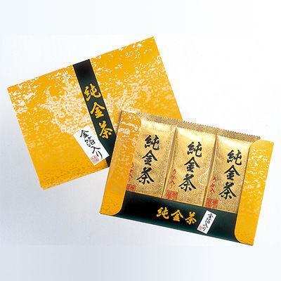 三盛物産 【100個セット】純金茶 [2g×3個] J-15 4944861001522