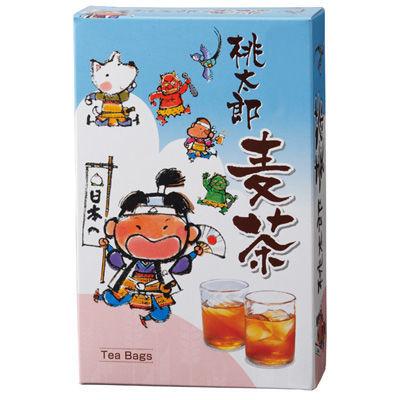三盛物産 【50個セット】桃太郎麦茶 [麦茶パック10g×8個] MV-15
