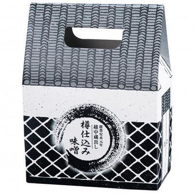 【50個セット】越中蔵出し樽仕込み味噌1kg 2571100