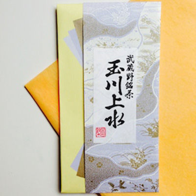 鈴木園 【メール便対応】東京狭山茶 玉川上水(紫)(100g) SZK-636729