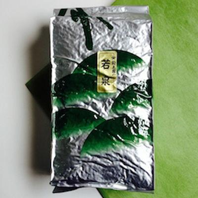 鈴木園 【業務用 お茶】スーパー日本茶☆二番茶☆煎茶 若泉(1kg) SZK-657497