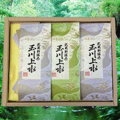 鈴木園 狭山茶「玉川上水」詰め合わせ(紫・草)100g×3(300g) SZK-T-10
