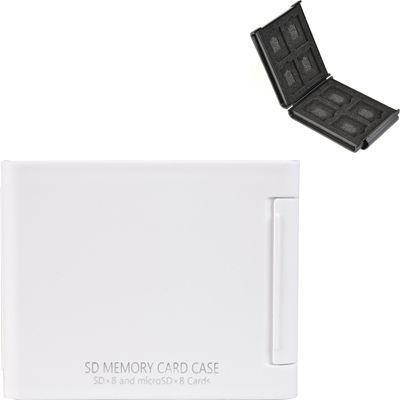 ケンコー・トキナー SDメモリーカードケースAS 8枚収納 ホワイト ASSD8WH