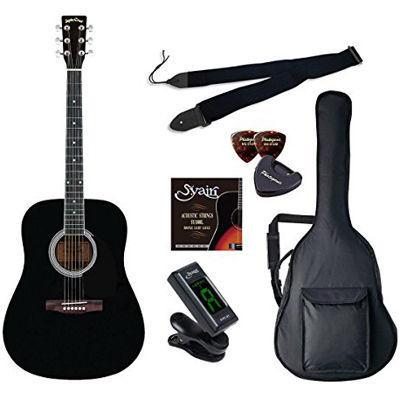 LIGHT SepiaCrue WG-10/BK ラ ブラック アコースティックギター初心者入門ラ ・・・