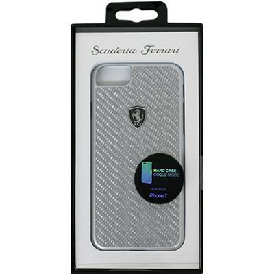 エアージェイ FERRARI HERITAGE Collection- Real Carbon Hard Case - Silver・・・