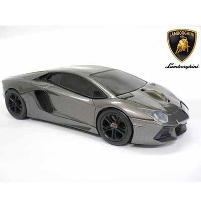 LANDMICE Lamborghini LP700 2.4G無線マウス 1750dpi グレー LB-LP700-4-G・・・