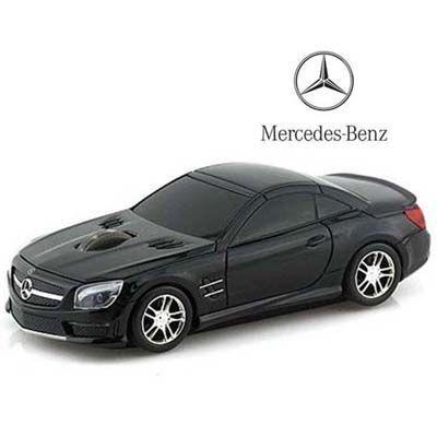 LANDMICE メルセデス ベンツ AMG (ブラック) 無線マウス 2.4G BENZ-SL63AMG-B・・・