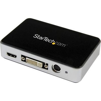 StarTech USB3.0接続ビデオキャプチャーユニット HDMI/ DVI/ VGA(アナログRGB・・・