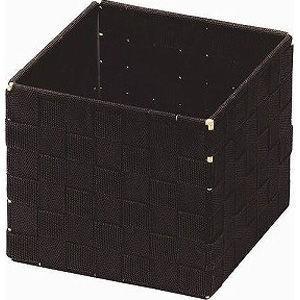 ちどり産業 小物入れ ボックス アクセサリー ダークブラウン 約14.5×14.5×1・・・