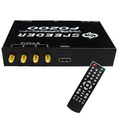 三金商事 車載用 フルセグチューナー 地デジ対応 4x4 HDMI F0200