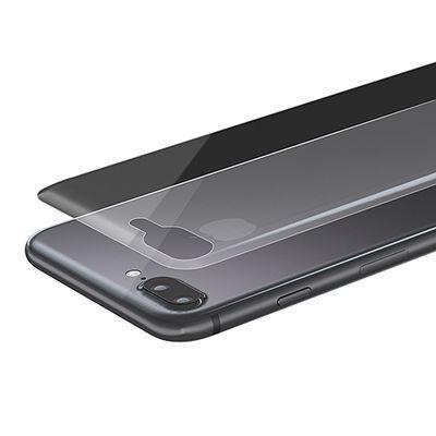 エレコム iPhone8Plus/背面フィルム/フルカバー/衝撃吸収/光沢 PM-A17LFLFPRG・・・