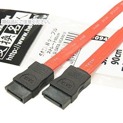 変換名人 【10個セット】 SATA 2 ケーブル ストレート90cm SATA-IICA90/VX10