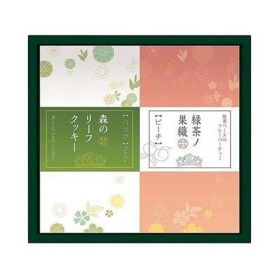 エターナル 緑茶ノ果織 フレーバーティー&スウィーツ詰合せ KNB-TBC-1・・・