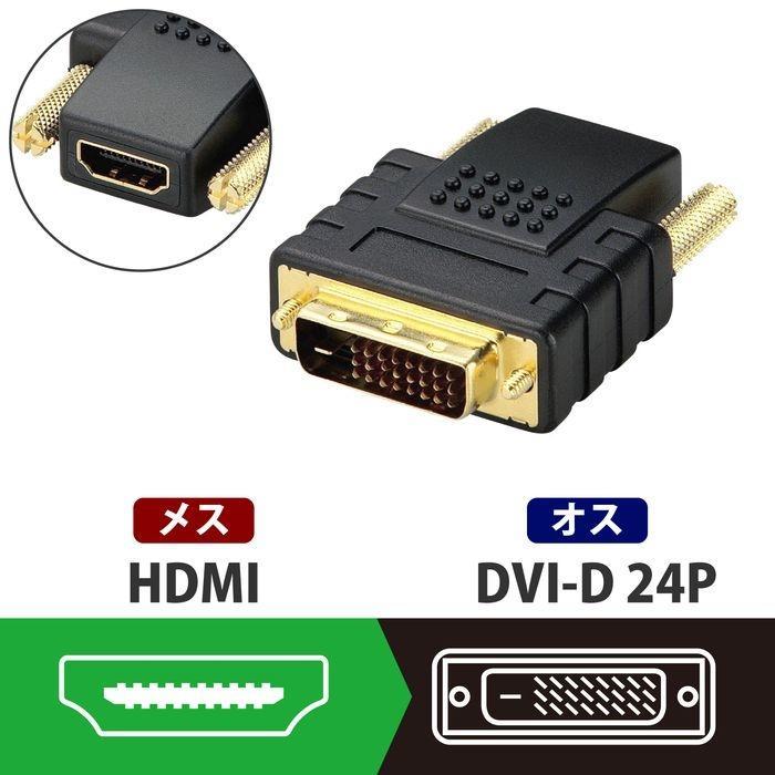 エレコム HDMI→DVI変換アダプタ AD-HTD