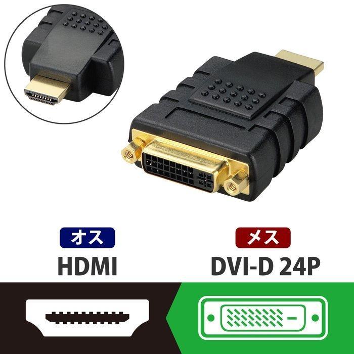 エレコム DVI→HDMI変換アダプタ AD-DTH