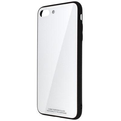 日本トラストテクノロジー ワイヤレス充電対応ケース for iPhone8 Plus ホワ・・・